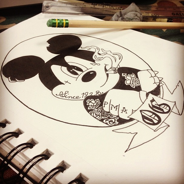 Gangsta Mickey And Minnie Mouse | Joy Studio Design ...